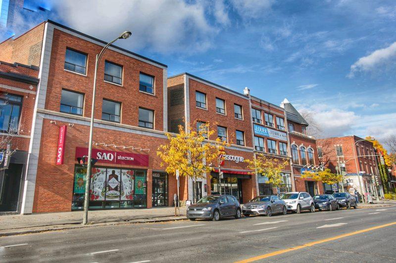 4825 sherbrooke o westmount commerical trium immobilier. Black Bedroom Furniture Sets. Home Design Ideas
